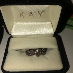 Kay Jewelers Purple Woven Ring
